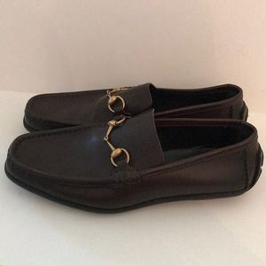 **Authentic** Gucci Brown Loafers SiZe 10D